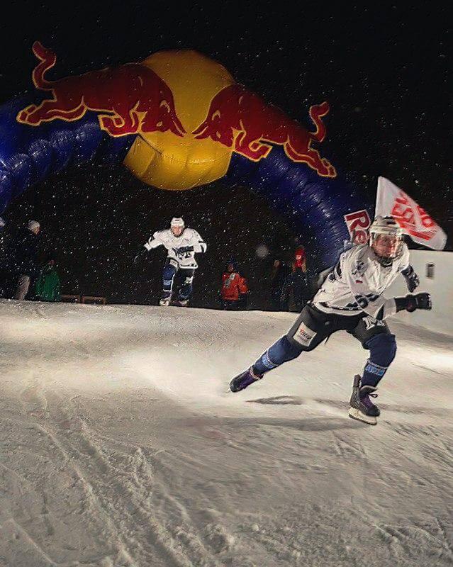 Чемпионат России по скоростному спуску на коньках Ice Cross Downhill Russia 2016