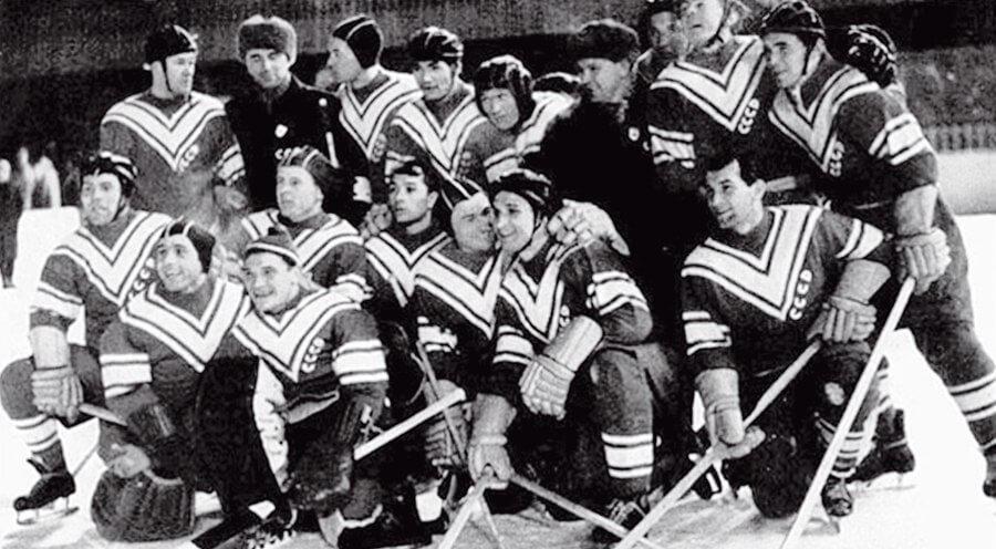 60 лет первому олимпийскому золоту советского хоккея