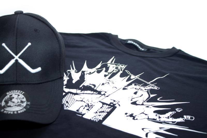 Специальная линейка одежды и кепок MASSKOTT для хоккейных вратарей!