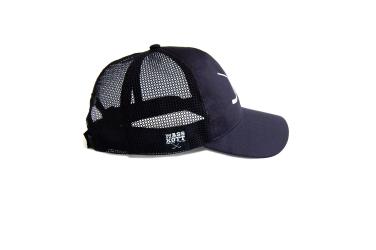 "MASSKOTT Бейсболка ""Basic Logo Net"" Классика сетка чёрный"