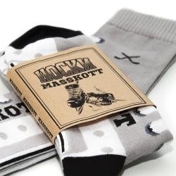 """MASSKOTT """"Коньки"""" носки в хоккейном стиле"""