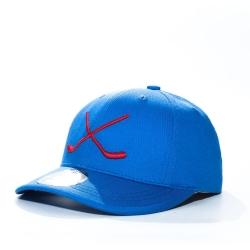 """MASSKOTT подростковая бейсболка """"Юниор"""" синий/красный"""