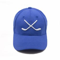 """MASSKOTT Бейсболка """"Хет-трик"""" Классика синий-белый"""