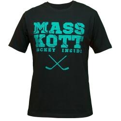 "MASSKOTT Футболка ""Basic Logo"" чёрный-лёд"