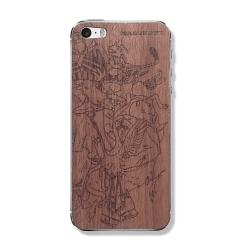"""Защитная деревянная панель на iPhone MASSKOTT """"Хоккейные маскоты 2"""""""