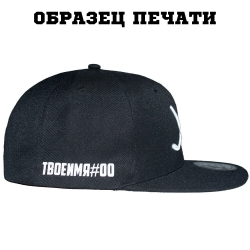 Персонализация на кепке