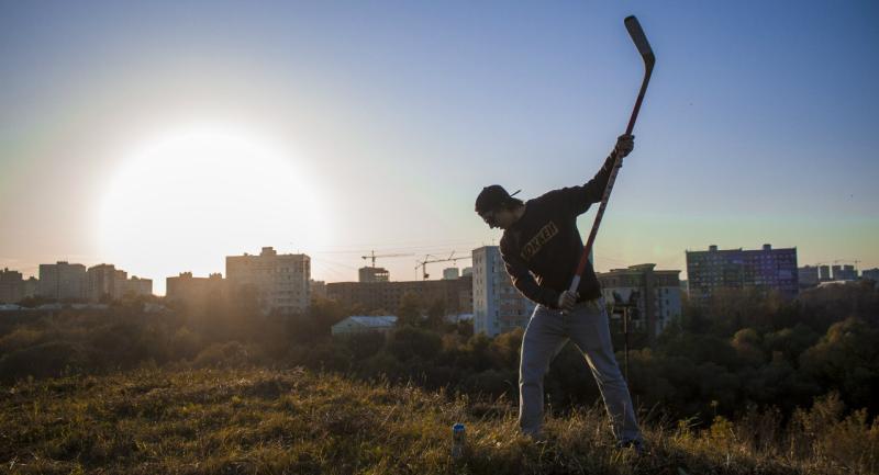 Уличный хоккей