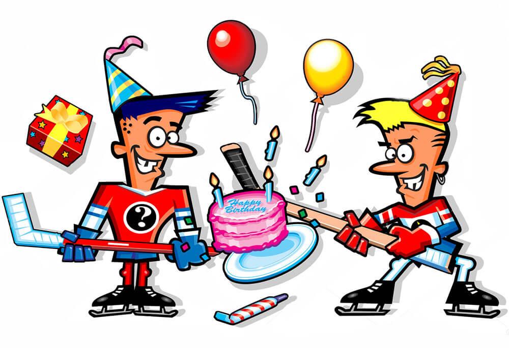 День рождения хоккеисты