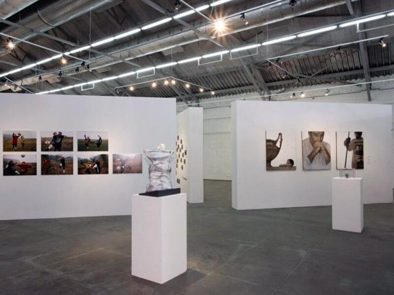 Выставка Футбол - хоккей в Центре современного искусства Винзавод.