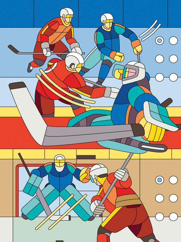 ДМИТРИЙ АСКЕ. Из серии Что есть игра?, 2016. Выставка Футбол - хоккей в Центре современного искусства Винзавод.